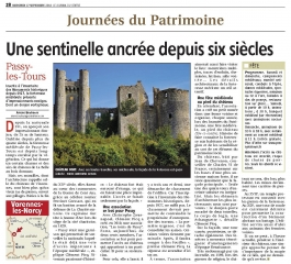 Journal du Centre 17/09/2014