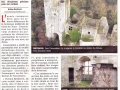 Journal du Centre 16/02/2015 - Des angles du château inédits