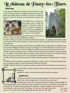 Panneau d'information Le Château