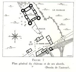 Motte-Josserand Plan de situation