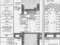 d2749-tour-ronde-porte-d-acces-2eme-etage-coupe-et-elevation
