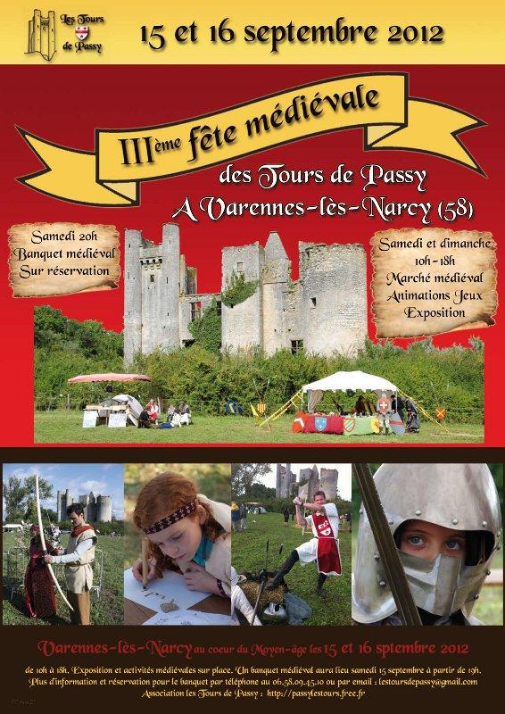 Affiche IIIème Fête Médiévale